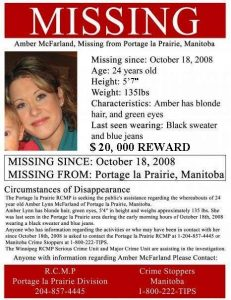 Amber Missing poster