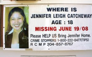 Missing since her 18th birthday in 2008