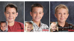 Photo with age progression