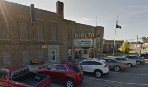 Rialto Theatre on Michigan Avenue.