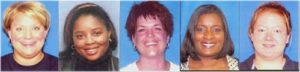 The five women who were murdered February 2, 2008.