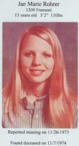 Who murdered Janet Rohrer?
